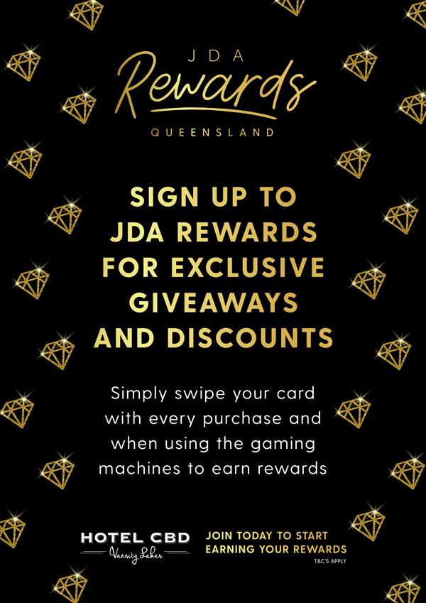 JDA Reward Giveaway - Hotel CBD